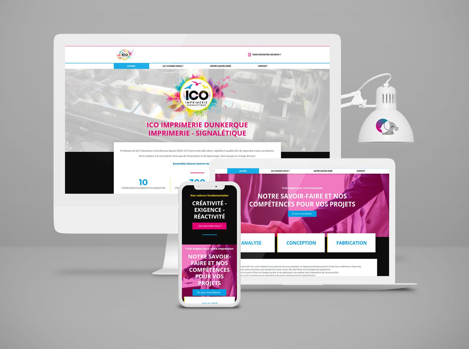 Site internet ICO Dunkerque